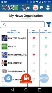news organizations
